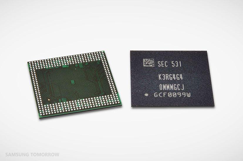 Samsung 6GB de memória RAM