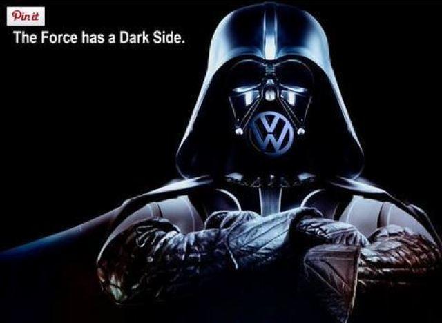 A VW utilizou uma criança vestida de Dart Vader num anuncio muito bem conseguido. Tão bem conseguido que agora se virou contra a marca