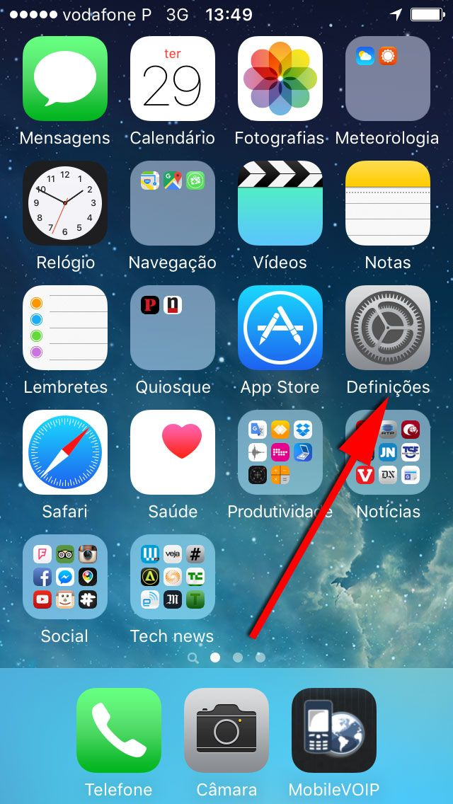 iPhone_iOS9_definições