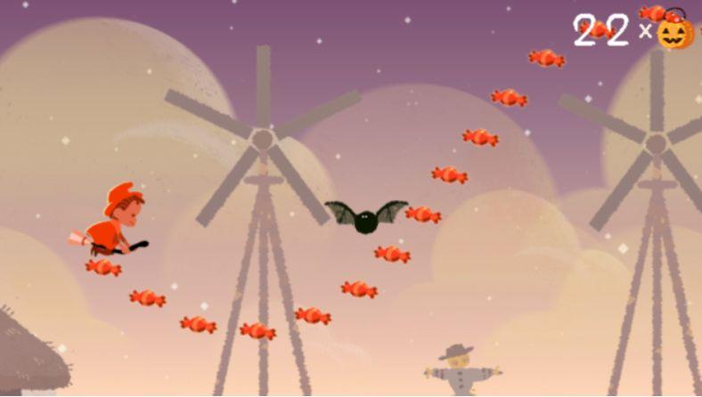 doodle halloween mini-game