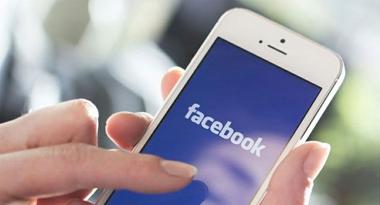 Facebook iPhone bateria
