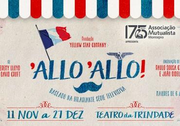 """""""Allo, Allo!"""" vai estrear no Teatro da Trindade, em Lisboa!"""