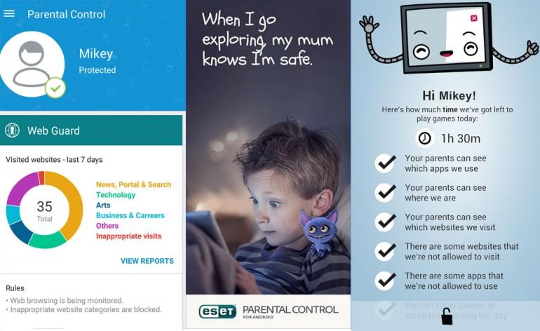 ESET lança app de segurança para Android que protege as crianças online