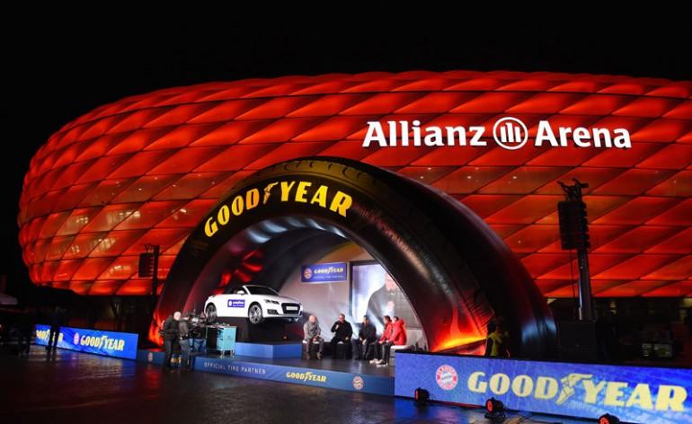 Bayern de Munique e Goodyear