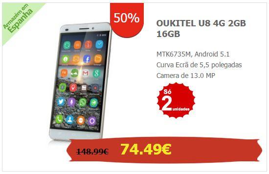 OUKITEL-U8-4G-2GB-16GB