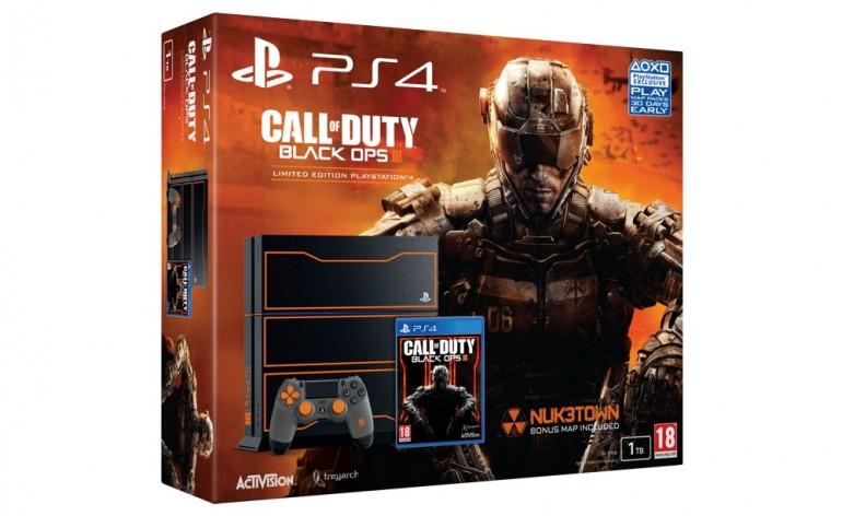 bundle PS4® com edição limitada de Call of Duty: Black Ops III