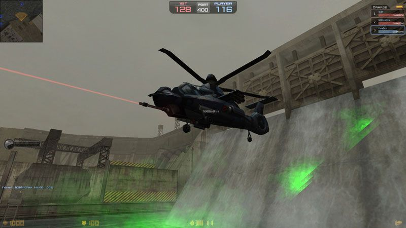 Counter-Strike Nexon: Zombies - helicóptero Comanche