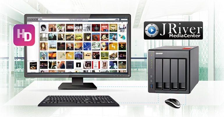 HD Station da QNAP já oferece suporte para o media center JRiver