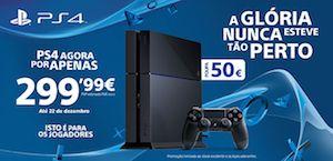 PlayStation 4 por apenas 299,99 euros