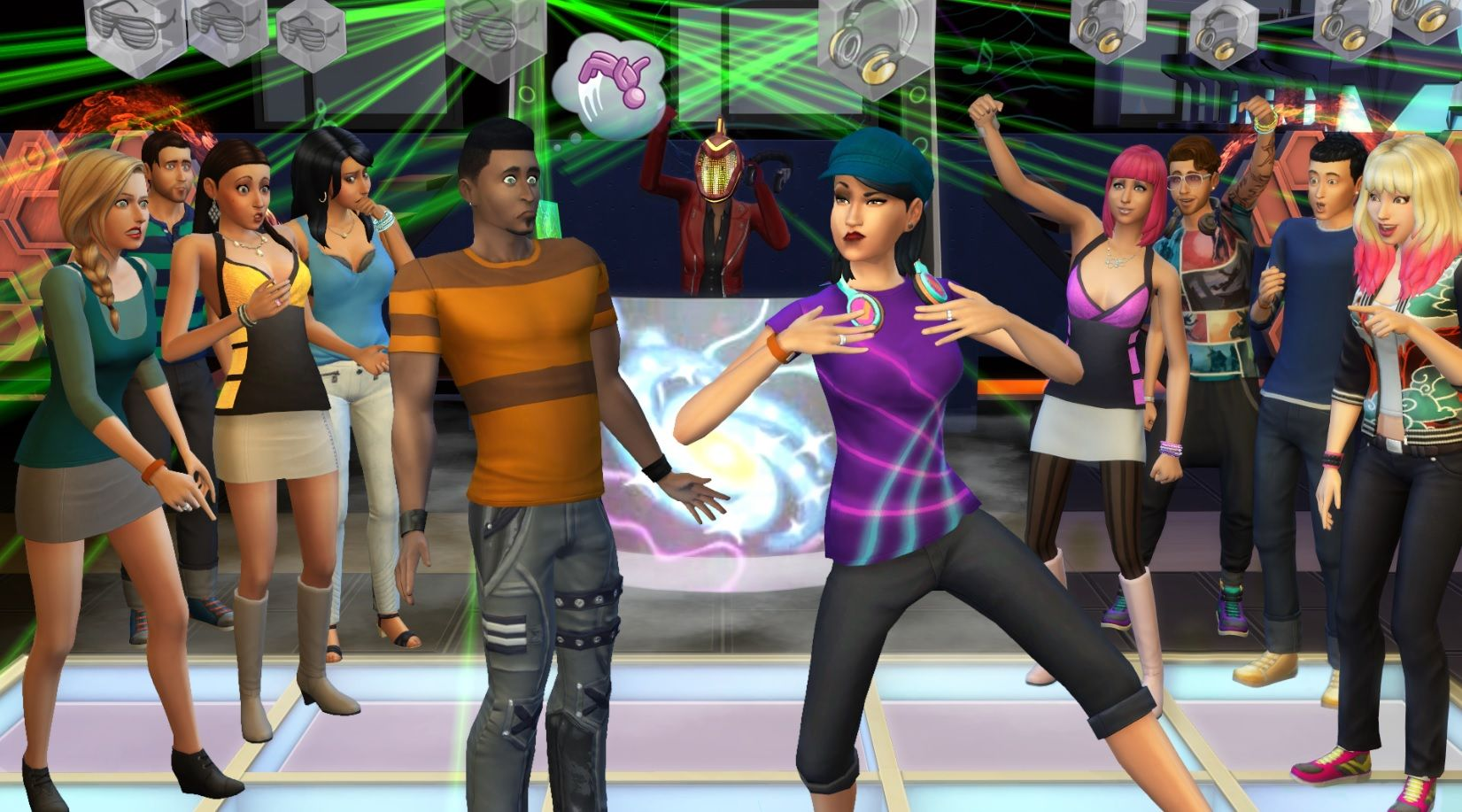 The Sims Get Together 1