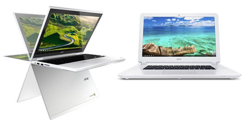 Chromebooks: Chromebook R 11 e Chromebook 15