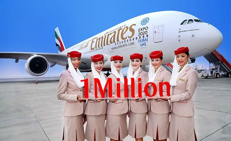 Emirates, com 1 milhão de seguidores, é a companhia aérea mais popular no Instagram