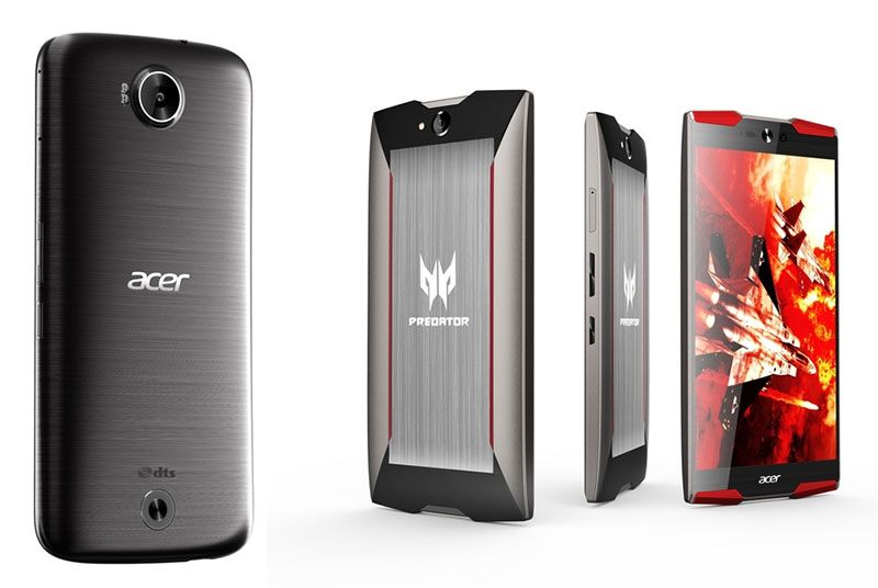 Smartphones: Liquid Jade Primo e Predator 6