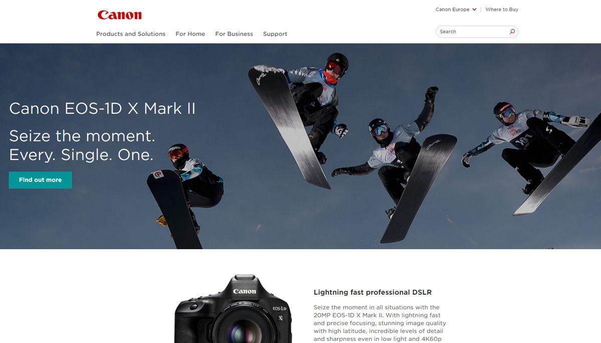 website da Canon
