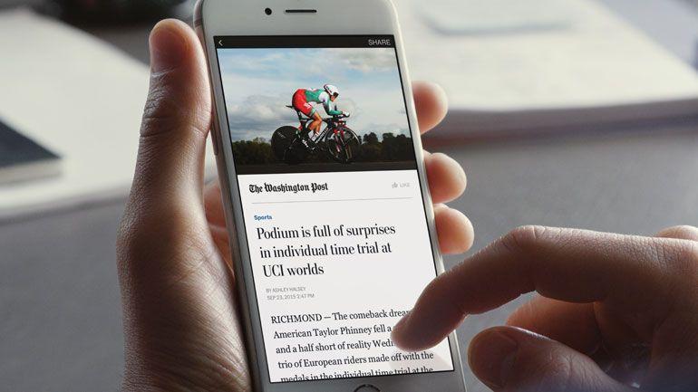 Facebook anuncia abertura de Instant Articles a todos os editores