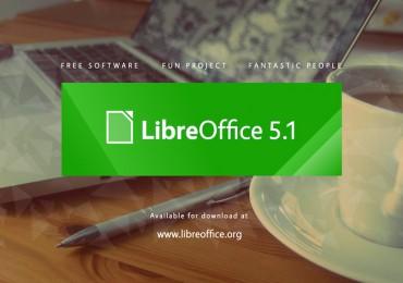 The Document Foundation anuncia o LibreOffice 5.1