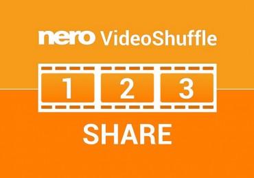 Nero apresenta VideoShuffle, uma APP grátis para criar vídeos instantâneos em tablets Android