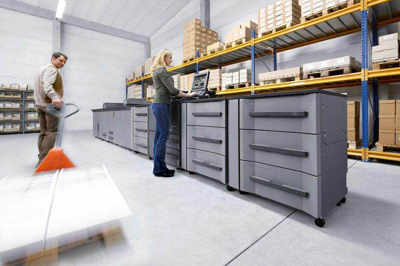 Konica Minolta lança nova linha de impressoras de produção bizhub