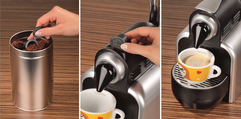 Hama lança cápsula reutilizável para criar os seus próprios cafés