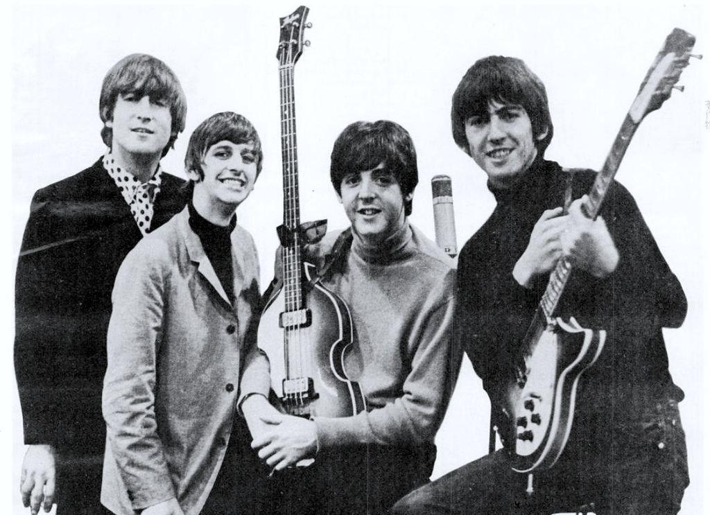 Os primeiros 100 dias da banda britânica The Beatles no Spotify