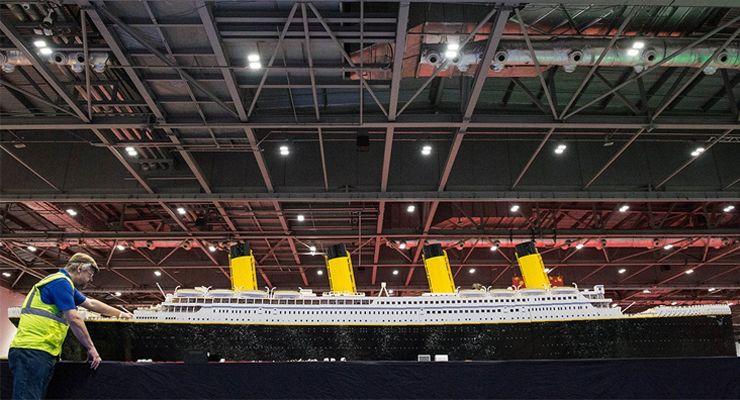 MEO Fan Event Titanic LEGO