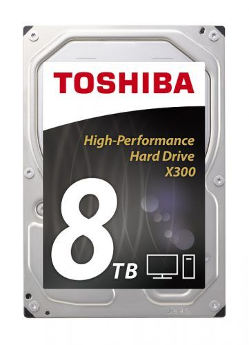 Toshiba anuncia novo disco rígido interno de 8TB e alta performance