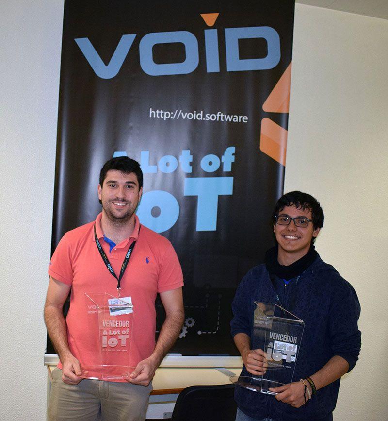 David Safadinho e Gabriel Rodriguez ganham bolsas de estudo oferecidas pela VOID