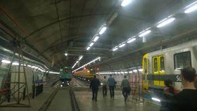 Oficina do metro de Buenos Aires