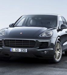 Porsche Cayenne Platinum Edition disponível em edição limitada