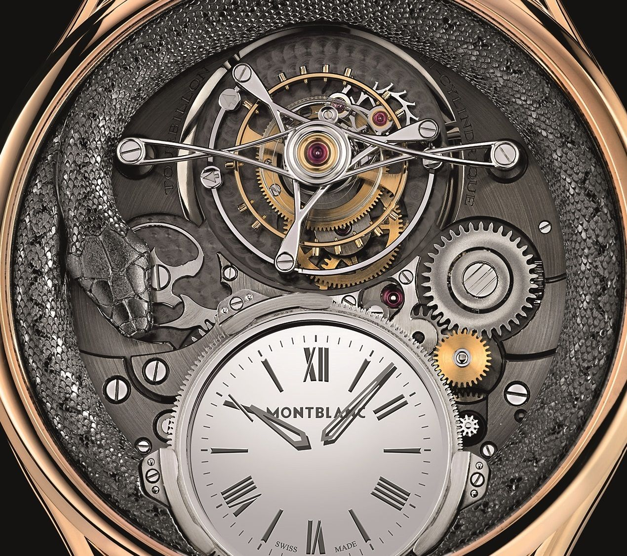 O Montblanc Villeret Tourbillon Bi-Cylindrique 110 Years Anniversary Limited Edition
