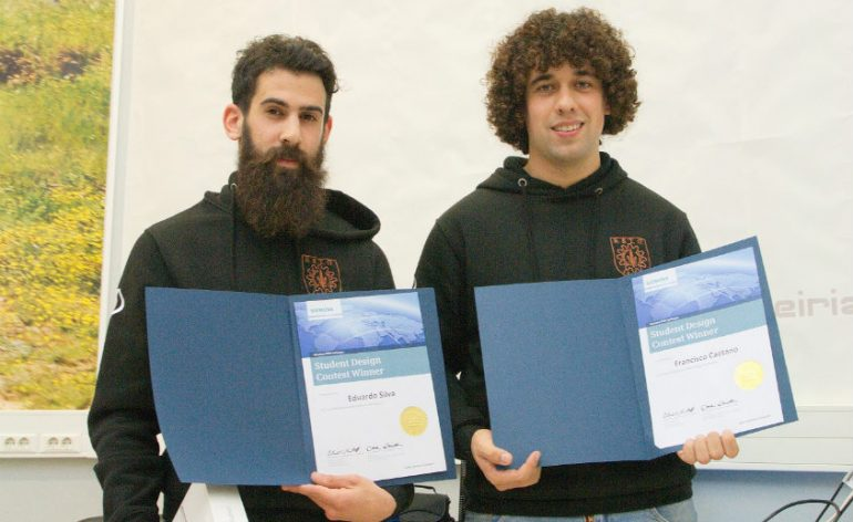 estudantes de Leiria vencem prémio internacional