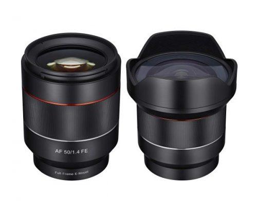 Samyang Optics anuncia duas novas objetivas de 14 mm e 50mm com autofoco