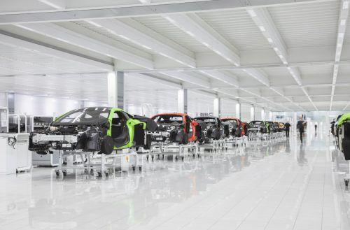McLaren vai produzir híbridos