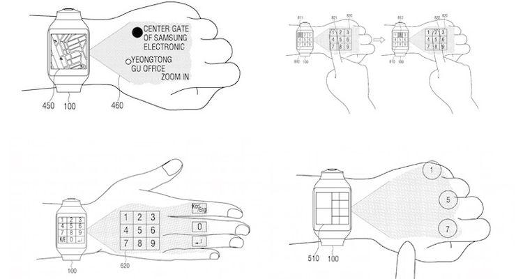Samsung Mini Projector Smartwatch