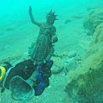 As estátuas foram encontradas em perfeito estado de conservação