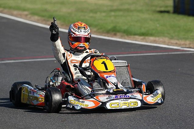 campeão da Europa e do Mundo em Kart