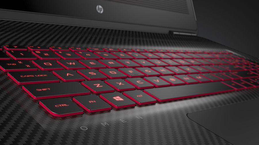 17.3 OMEN by HP Keyboard Detail
