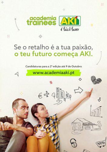 AKI anuncia a abertura das candidaturas para a 2ª edição da Academia de Trainees