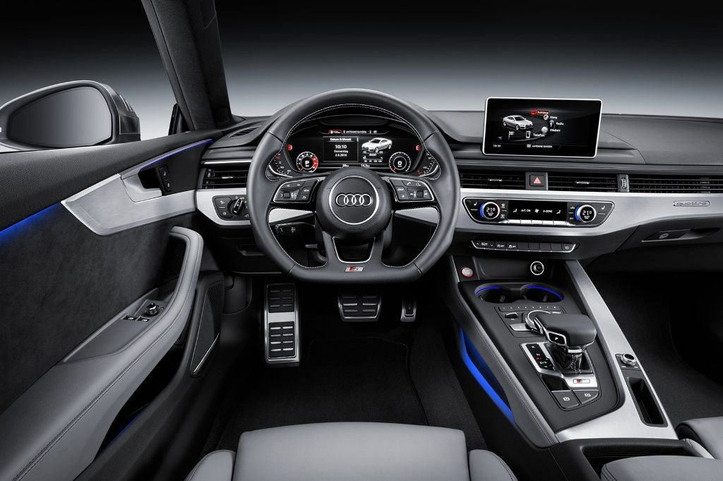 Cockpit do novo Audi A5 Coupé