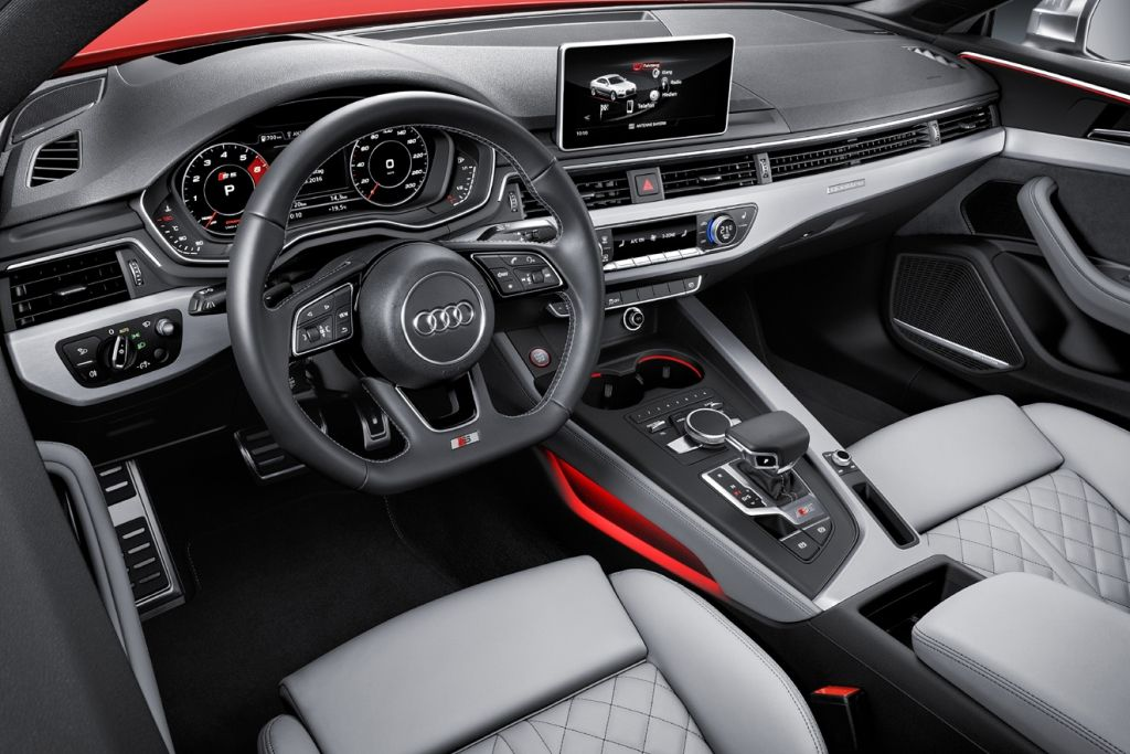 Interior do novo Audi S5 Coupé