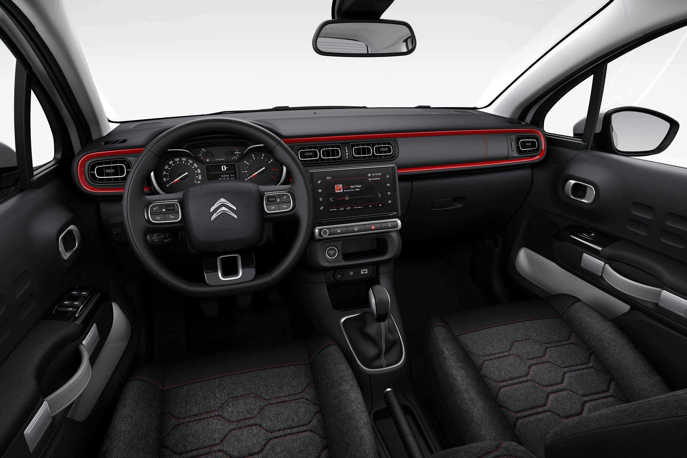 Interior do novo Citroën C3