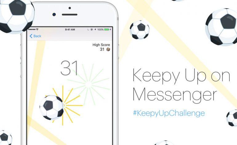Facebook Messenger lança novo jogo de futebol