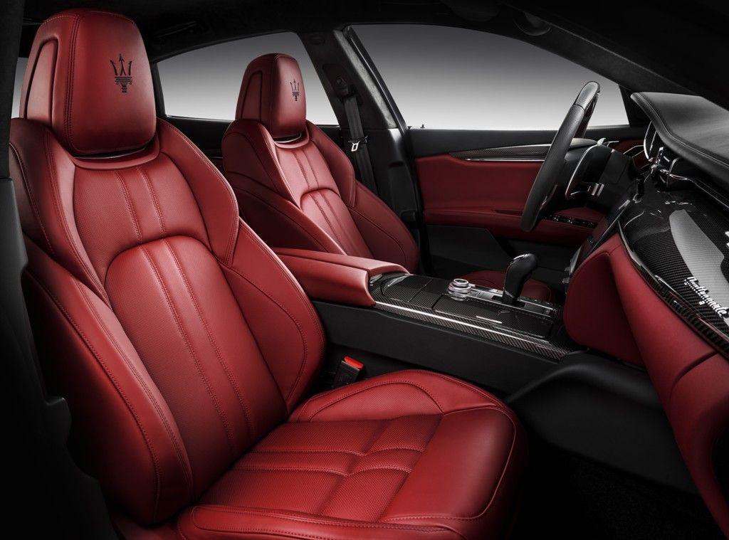 Interior do Quattroporte GTS GranSport
