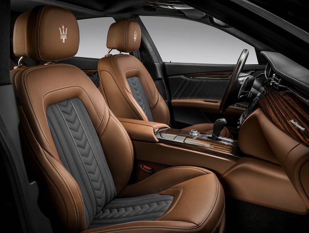 Interior do Quattroporte S Q4 GranLusso - Zegna Edition
