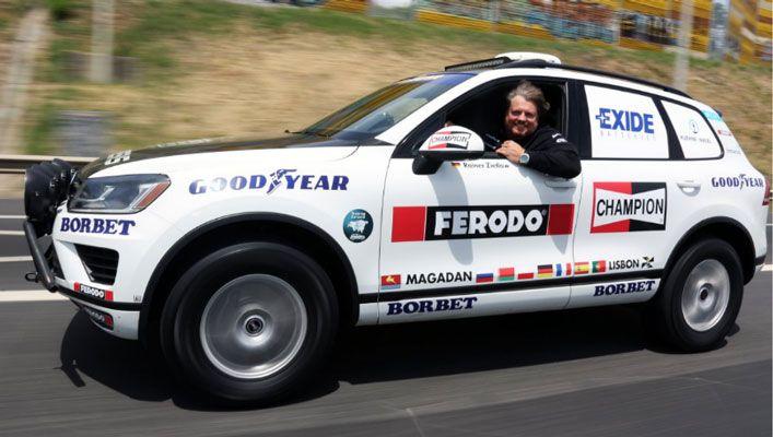 Goodyear arranca à conquista do recorde do mundo com destino a Lisboa