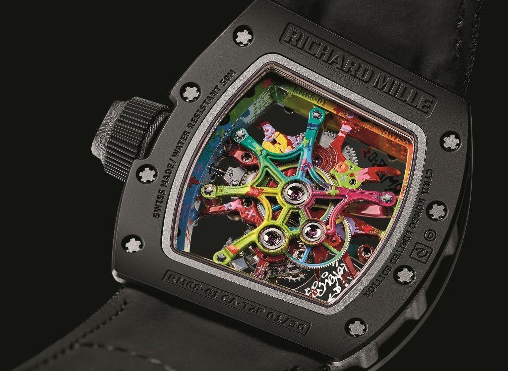 Novo Richard Mille RM68-01 Cyril Kongo
