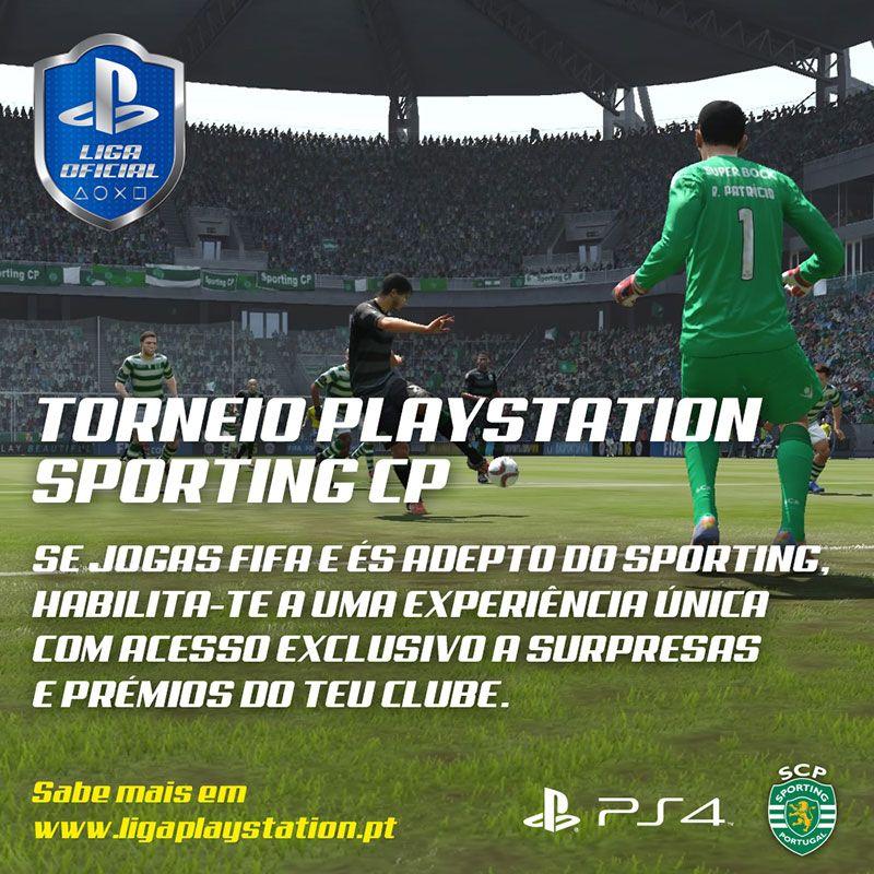 Liga Oficial PlayStation lança novo torneio em parceria com o Sporting Clube de Portugal