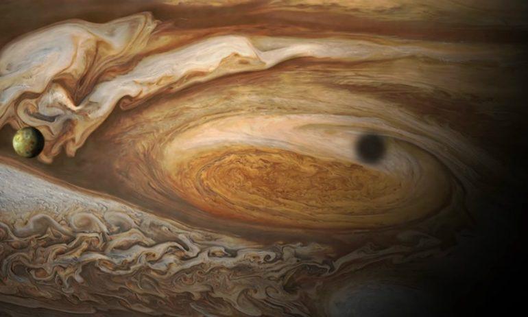 Juno chega a Júpiter