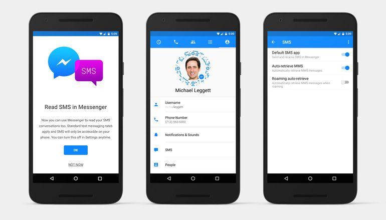 Facebook Messenger: Já é possível enviar e receber mensagens SMS