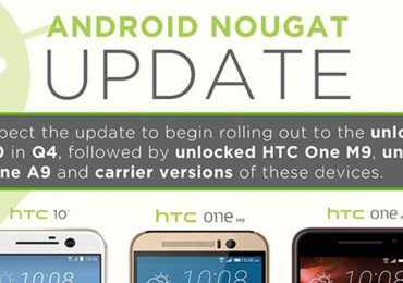 HTC Android 7.0 Nougat